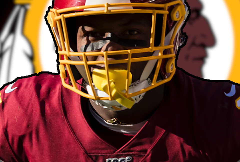 Terry McLaurin with the redskins