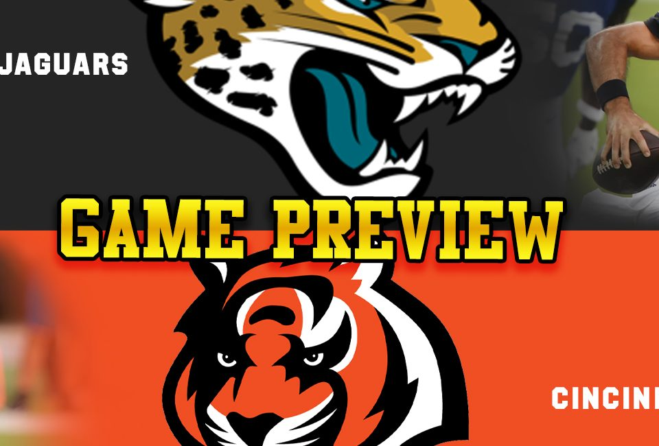 The Jaguars Week 4 matchup with the Bengals is must win for Gardner Minshew.