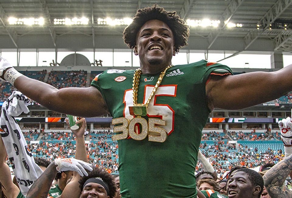 Despite opting out, is Gregory Rousseau still among the top edge rusher prospects for the 2021 NFL Draft.