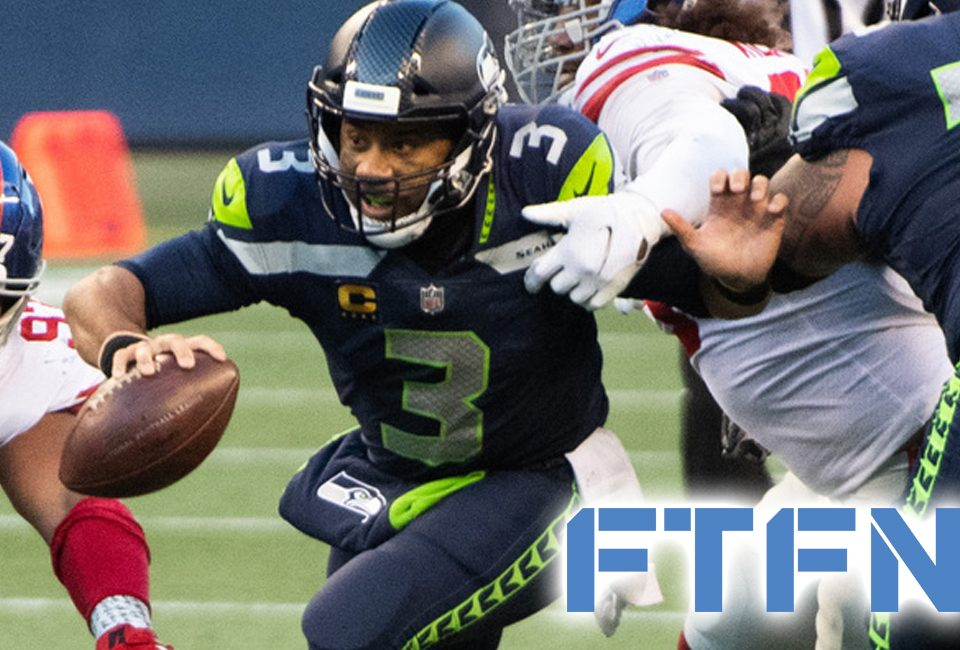 Russell Wilson struggles against the Giants