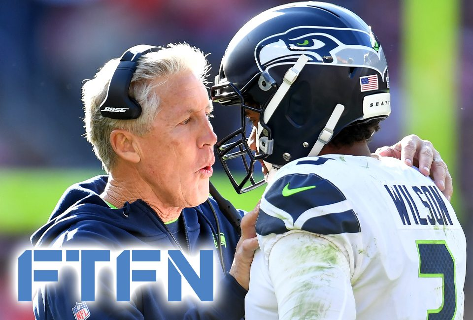Pete Carroll and Russell Wilson - are they on the same page?
